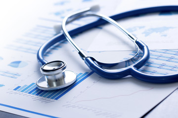 stetoscopio, salute, medicina, controllo, analisi