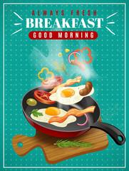 Fresh Breakfast Poster