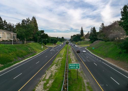 Sunnyvale Highway, California, USA