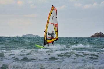 Planche à voile en Bretagne