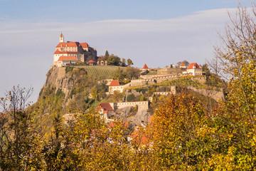 Riegersburg im Herbst, Steiermark, Österreich