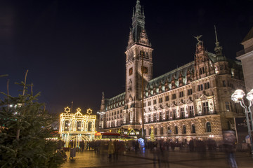 christmas time in Hamburg Germany