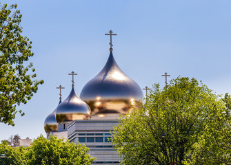Holy Trinity Cathedral and The Russian Orthodox Spiritual and Cultural Center in Paris