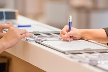 hand Register for the seminar