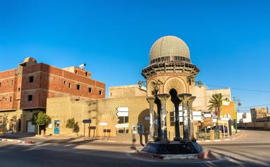 Buildings in the medina of Tozeur, Tunisia