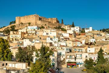 Skyline of El Kef, a city in northwestern Tunisia