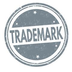 Trademark grunge rubber stamp