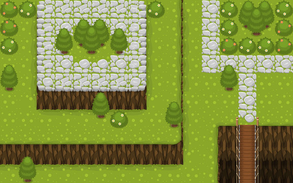 The Village Top Down Tileset