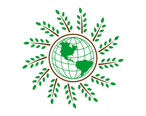 earth wheat icon