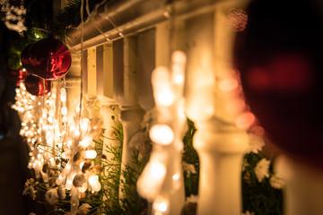 Lghting in the Christmas night