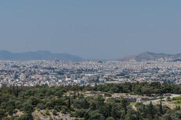 riesige stadt athen