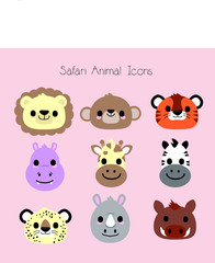safari animal icons