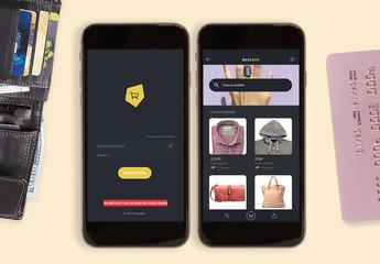 Kit per interfaccia utente per acquisti