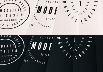Kit per logo di testo di base