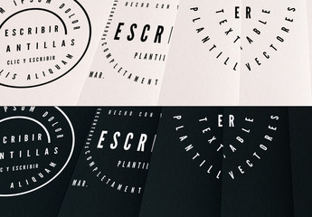 Kit de logotipo de texto básico