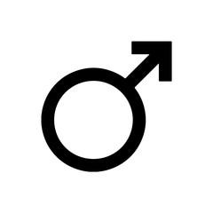 Astronomical symbol of Earth. Mars symbol. Vector icon. Vector Illustration.