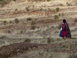 Lac Titicaca au Pérou Ile Amantani