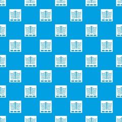 X ray photo pattern seamless blue