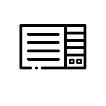 AC Window Unit vector icon