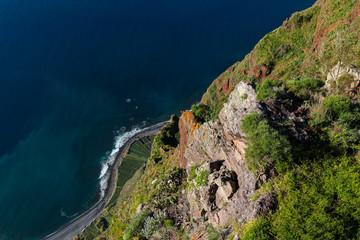 Cabo Girão an der Südküste von Madeira, Portugal