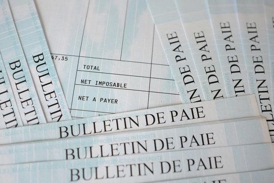 bulletin de paie net imposable