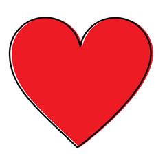 heart cartoon icon image vector illustration design