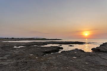 Coast of Torre la Sal (Cabanes, Castellon - Spain).