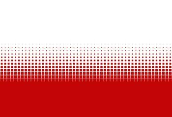 Farbübergang rot weiß