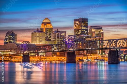 Fototapete Louisville, Kentucky, USA Skyline