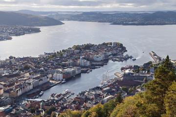 Bergen and the Byfjorden