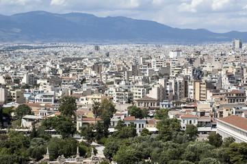 panorama of athens - Greece