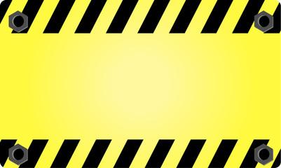 warning, industry, sign