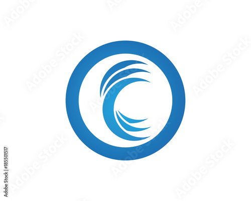 C Wave Logo Symbol Stock Image And Royalty Free Vector Files On