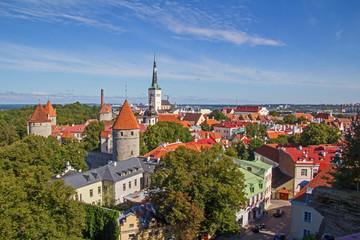 Tallinn panoramic view Stadtpanorama