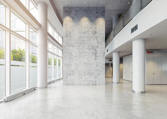 modern business hall Wall mural