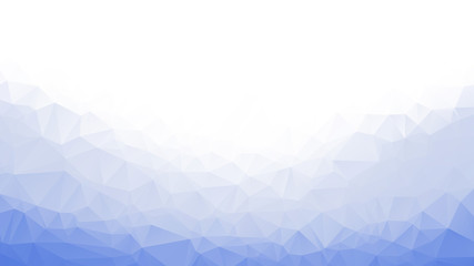 abstract background low poly white blue triangle ice cold