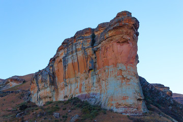 Brandwag Buttress day view, South Africa
