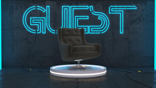 Guest talk show quiz