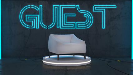 Guest talk show
