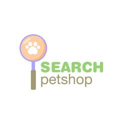 Pet Shop Logo Vector
