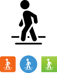 Crossing Sign Icon