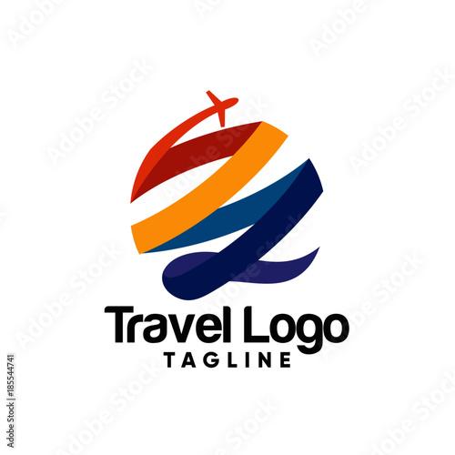 Creative travel agency logo design 1