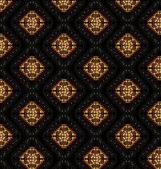 arabic style vector pattern orange
