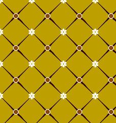 geometric patterns yellow and white