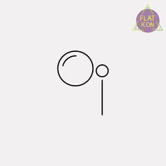monocle line icon
