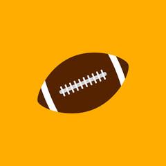 American footbal ball icon
