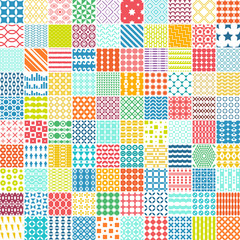100 seamless pattern. Can be used for textile, website background, book cover, packaging.
