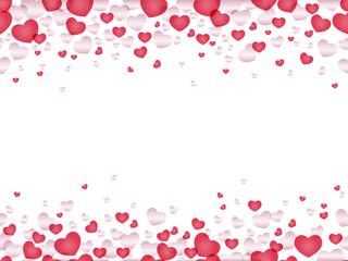 シームレスなバレンタインデーのフレーム