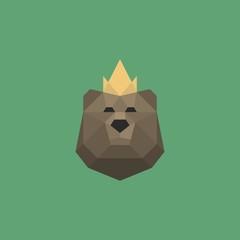 Sign of the bear's head.