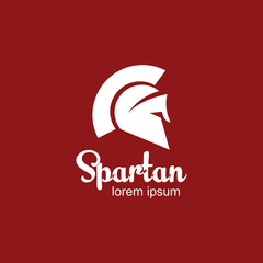 Spartan Logo Vector Template Design